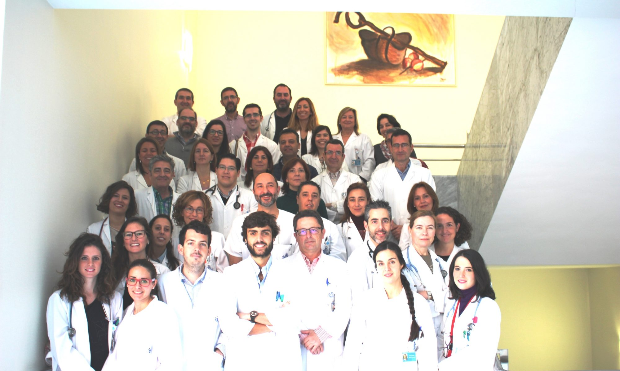 equipo servicio de medicina interna HSJDA