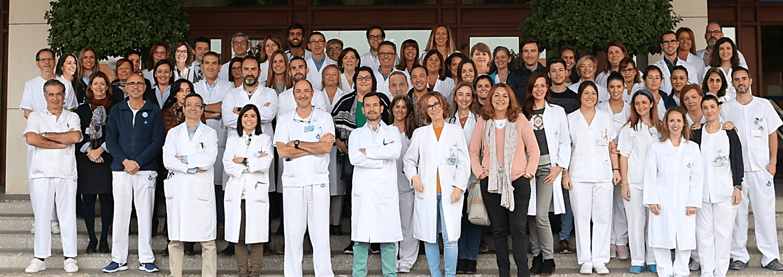 equipo servicio de medicina HSJDA